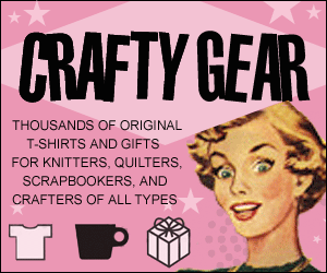 CraftyGear - T-shirts and Gifts for Crafty People